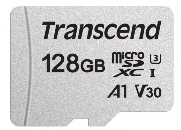 Карта памяти Micro Secure Digital XC/10 128Gb Transcend 300S
