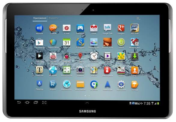 Купить планшетный компьютер Samsung Galaxy Tab 2 10.1 P5100 16GB Silver в интернет-магазине в Мурманске - цена 13990 руб.