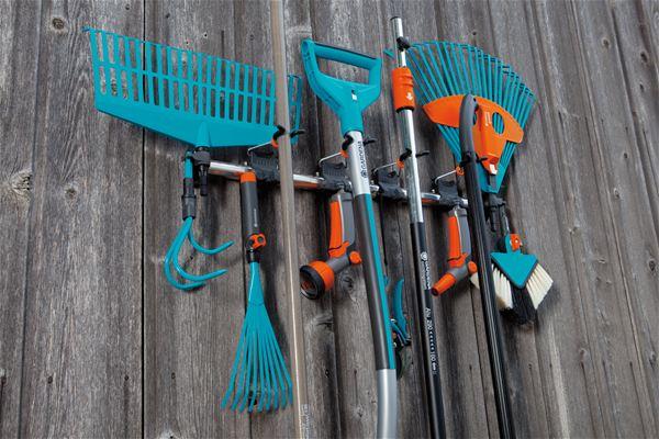 Держатели садового инструмента своими руками